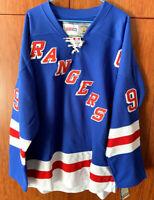 Vtg  #99 Wayne Gretzky Rangers Hockey Jersey Men's Blue Size 54