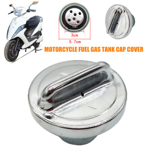 57mm Diameter Motorcycle Scooter Modified Fuel Gas Tank Cap Cover Trims Durable