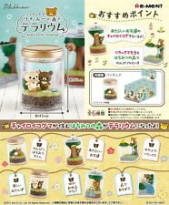 Re-Ment Miniature Sanrio Rilakkuma Honey Forest Terrarium Set of 6 pcs