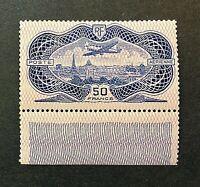 France 1936 *** Superbe *** PA N° 15 *** Neuf Gomme Origine  TTBE Signé v/détail