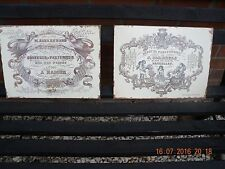 Unbranded Tin French Decorative Plaques & Signs