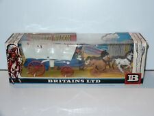 BRITAINS WILD WEST #7616 PIONEER COVERED WAGON MIB 1970s VHTF
