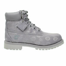 Timberland 6 Inch Classic Big Kids Boots Grey Floral tb0a1759