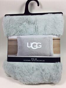 UGG Polar Standard / Queen Pillowcase (1) - Glacier Gray - Soft -  NEW