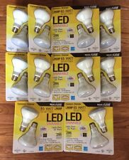 20 LED BULBS FEIT ELECTRIC WARM WHITE BR30 13W LED FLOOD TRACK RECESSED DIMMABLE