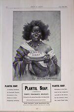 1903 Imprimé Annonce Annonce Plantol Savon