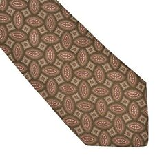 Prochownick Ancient Madder Krawatte Tie Seide Silk Made in Italy Braun Tan COOL