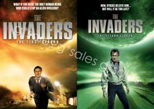 The Invaders TV Series ~ Complete Season 1-2 (1 & 2) BRAND NEW DVD SET