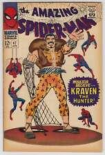 L6809: Amazing Spiderman #47, F VF Condition