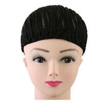 1PC Black Color Cornrow Crochet Braided Wig Cap Hairnet for Making Braid
