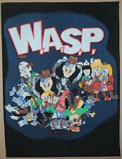 W.A.S.P. The Real Me Backpatch, 1989, rar, rare, WASP