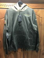 Nike Seattle Seahawks Salute To Service Hoodie XL 💯 Authentic