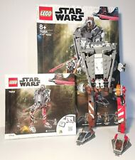 Lego Starwars Mandalorian AT-ST Set 75254 Complete Build/Instructions/Box.