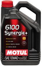 MOTUL Motoröl 6100 Synergie + 10W-40 5 Liter BMW MB Renault VW