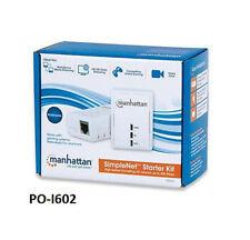 SimpleNet HomePlug 500MBPS Powerline Network Adapter 2-Unit Starter Kit - 506670