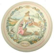 Wedgwood 1990 wall plaque Jack and Jill Nursery Rhymes collection CP169