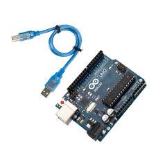 Arduino UNO R3 Rev3 ATMEGA328P 16U2 Compatible Development Board &Free USB Cable