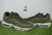 New Nike Air Max 95 SE Mens Size 8 Shoes AJ2018 300 Olive Canvas Green Gum