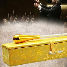 Gold Rhythm Music Director Orchestra Conductor Conducting Baton Case GH