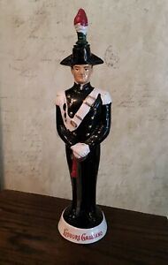 "Vintage 'Liquore Galliano' Decorative Figural Soldier 14"" Liquor Decanter Bottle"