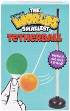 More details for world's smallest tetherball mini swingball desktop novelty gift stocking filler
