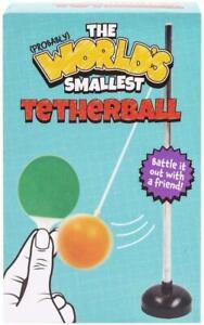 World's Smallest Tetherball Mini Swingball Desktop Novelty Gift Stocking Filler