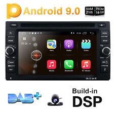 GPS SAT Navi Android 9.0 Central Auto Car Unit Radio CD Player HD Screen Camera