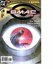 Lot Of 6 The Omac Project DC Comic Book #1 2 3 4 5 6 KS6