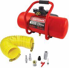 NEW! Craftsman 3 Gallon Air Compressor & Accessory Kit Electric Oil Free .33 HP