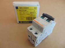 New Schneider Square D Mg2443 C60 Miniature Circuit Breaker 2P 2A 480 / 277 Vac
