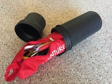 """4 1/4"""" X12.5"""" Mega size Motorcycle Tool Tube with Tool Bag"""