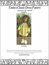 Classic Dress Pattern for the 16 in Sasha Doll ~ Simply Grace Designs
