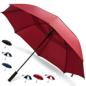 Third Floor Umbrellas 68 Inch Automatic Open Golf Umbrella - Large Vented Canopy
