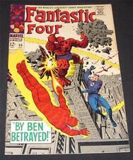 FANTASTIC FOUR #69 VF- (7.5) - 12¢ cover Marvel Comic