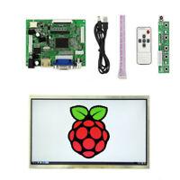 New 10.1' LCD Display Screen Monitor HDMI+VGA+2AV Driver Board for Raspberry Pi