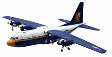 NEW RAY SKY PILOT 1:130 AEREO MONTATO LOCKHEED C-130 HERCULES BLUE ANGELS  20613