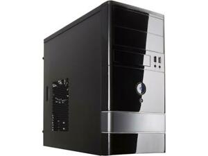 Rosewill Micro ATX Mini Tower Computer Case with Dual Fans - FBM-01