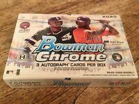 ONLY 3 AUTO* 2020 Bowman Chrome Baseball HOBBY BOX HTA RANDOM 2-TEAM BREAK SBB