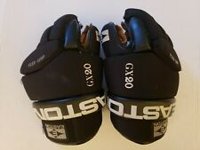 "Lightly Used Easton Pro Gx20 13.5"" Hockey Gloves!Flex Grip. Leather Palms."