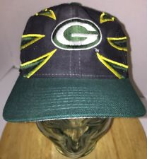 Vintage GREEN BAY PACKERS 90s Hat Cap Snapback DREW PEARSON Wool The CLAW Rare