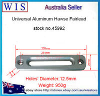 """12""""(300mm) Aluminum Hawse Fairlead for Synthetic Winch Rope Off Road 4x4-45992"""