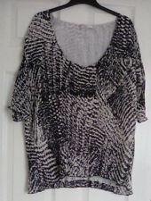 Stunning Windsmoor Top Size XL - 18/20 Black and white BNWOT