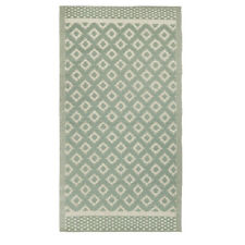 Green Rug Pattern Recycled Plastic by Ib Laursen 180x90 cm/ Outdoor Area Rug