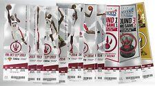 2013-14 NBA TORONTO RAPTORS COMPLETE UNUSED SEASON BASKETBALL TICKETS - 61 TIX