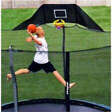 Jump N Jam Basketball Hoop trampoline attachment accessory ball pump game kids