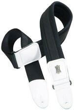 "Levy's PM48NP3-WHT 3"" Padded/Stretch Neoprene Comfort Bass/Guitar Strap - White"