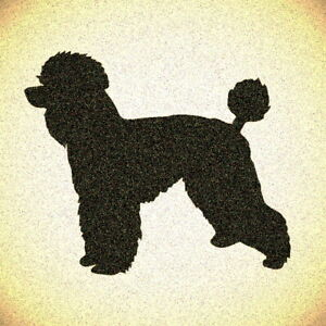 Poodle Stencil Mylar Dog Dogs Pet Stencils