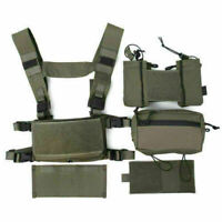 TMC3115-RG Tactical Airsoft Hunting Vest Modular Chest Rig Set
