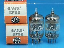 Ge 6Ak5 Vacuum Tube 1970 Super Sweet Warm Tone O Getter Nos Nib Kc