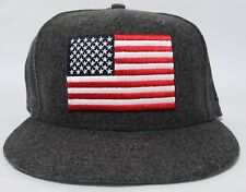 BRAND NEW 10 DEEP USA FLAG NEW ERA FITTED HAT CAP SIZE 7 3/8 (58.7cm)